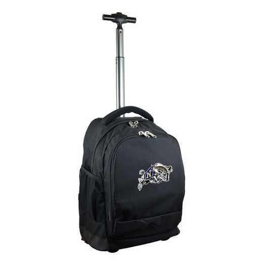CLNVL780-BK: NCAA Navy Midshipmen Wheeled Premium Backpack